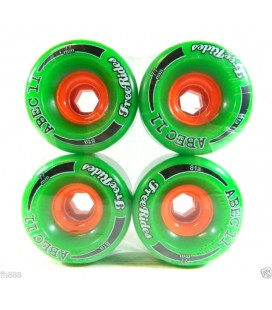 Abec11 Freerides Classic Wheels (Pck 4)