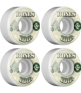 Bones Wheels OG 100's (Set of 4)