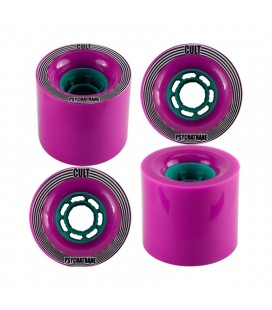 Rodas Longboard Cult Rapture 74mm 77a (set 4)