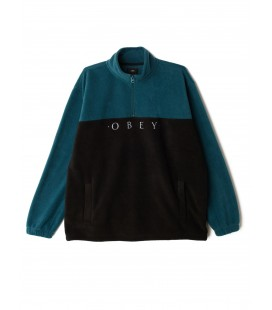 Obey Channel Mock Neck