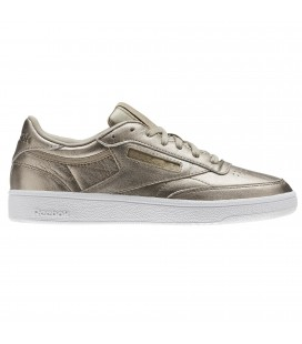 "Reebok Club C 85 Leather ""Pearl Met / Grey Gold / White"""