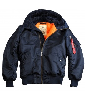 "Alpha Indusdries MA-1Hooded Jacket ""Rep.Blue"""