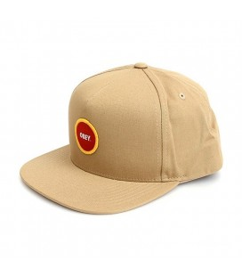 Chapéu Obey Circle Patch Snapback