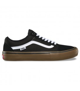 "Vans Old Skool Pro ""Black/White/Gum"""