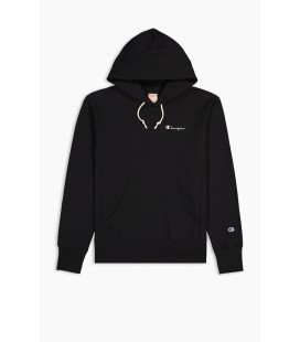 Champion Small Script Logo Reverse Weave Hoodie